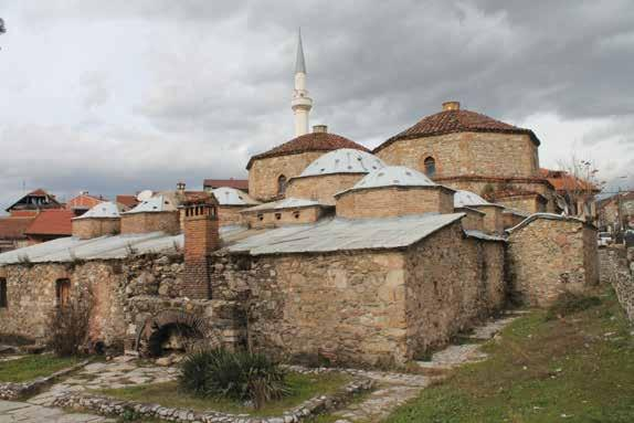 AS WE ARE Gazi Mehmet Pasha Hamam was built between 1573-74, in the same time Mehmet Pasha built his mosque just around the corner in Prizren.