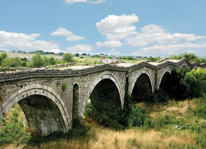 STORIES OLD AND NEW OF A COUNTRY THRIVING 71 Bridges Terzi Bridge The Terzi or Tailors - Bridge, is an emblematic Ottoman-style construction made at the end of the fifteenth century.