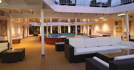 POOL DECK COMPASS CLUB POLARIS RESTAURANT YOUR EXPEDITION INCLUDES ASHORE: Introductions to local people and customs Sightseeing Museum
