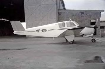 Name changed to Caspair Ltd in 1957 Regd...57 or 58 VP-KIP Caspair Ltd.(CAN58) Seen in a hangar at Nairobi West late 1958/early 1959 Regd.8.3.60 VP-KIP G A Grandsoult & Lombank (Kenya) Ltd.