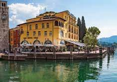 Sole Hotel, Riva The Sole Hotel occupies an enviable position, right on the lakefront and located at the side of the main square in the centre of the lovely historic town of Riva del Garda
