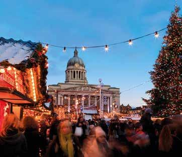 A vibrant, friendly city for this new Christmas break where past and present harmonises perfectly to create a unique destination offering something for everyone especially during the festive season.