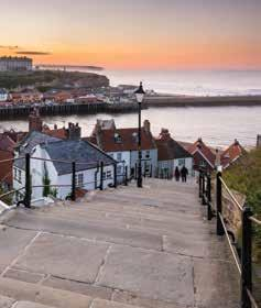 evening of entertainment. Wednesday After breakfast we depart for home. This new tour includes excursions to Whitby and free time in Scarborough.