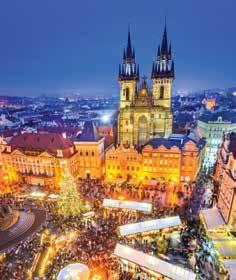 Prague Christmas Markets 6 DAYS included 5 nights with dinner, bed & breakfast 200th Anniversary of Silent Night 7 DAYS included 2 nights with bed & buffet breakfast Trier & Luxembourg Christmas