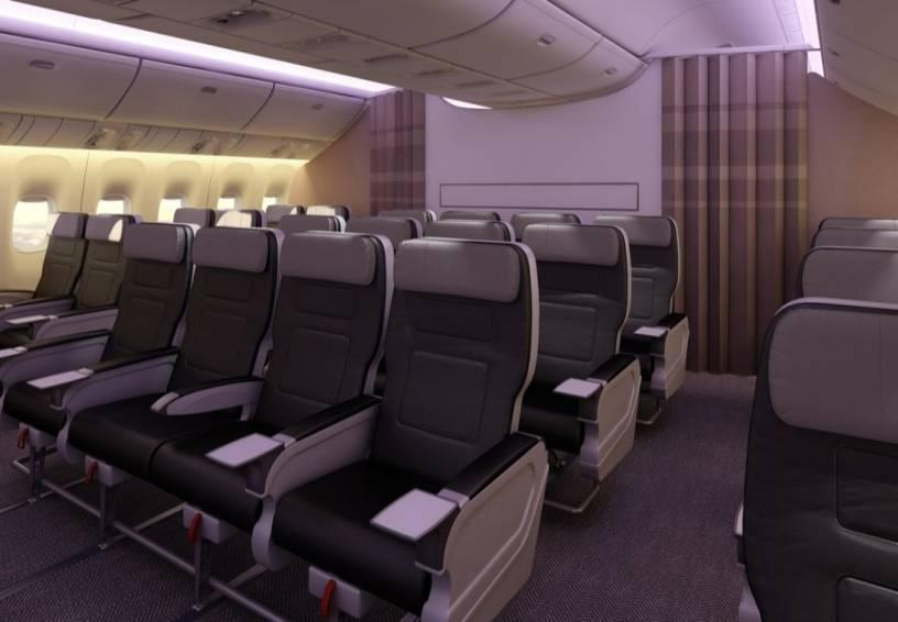 IMPROVING PREMIUM REVENUES WITH NEW PREMIUM ECONOMY CLASS Premium Economy Class New class of service on both mainline and rouge fleets Provides more seating pitch and width than economy class