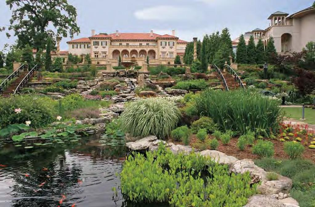 Tulsa Living The world famous Philbrook Museum is nestled within the Brookside neighborhood surrounded by the landscape and Renaissance artistry.