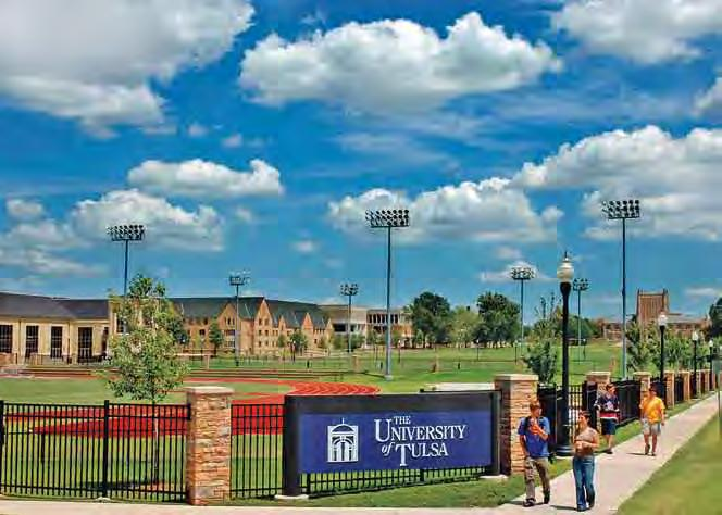 Tulsa Living Other institutions of higher learning include The University of Oklahoma University of Tulsa Oral Roberts University Tulsa Community College Spartan College of Aeronautics and Technology