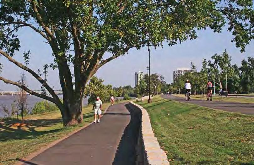 Without a doubt, one of Tulsa s outdoor highlights is its RiverParks, a strip of unspoiled land along the Arkansas River that testifies to visionary urban planning.