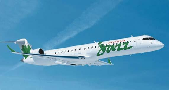 The CRJ 705 Jazz is the first carrier to operate the state-of-the-art Bombardier CRJ705 regional jet aircraft.