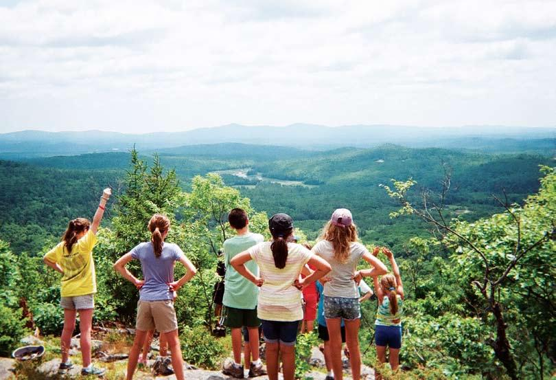 Summer2018 Hike play adventures sing paint camp