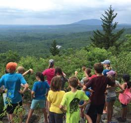 m. at the Harris Center Harris Center members $360 / Nonmembers $400 Voyagers July 16 to 20, for grades 5 through 7 Voyagers will adventure through local woods, over trails, and up mountains all