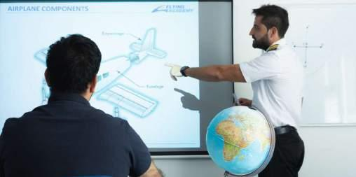 Ground Training Theoretical preparation lays the foundation for practical flight training. During the zero to ATPL course, you will complete theoretical courses for PPL(A) and ATPL 650(A).