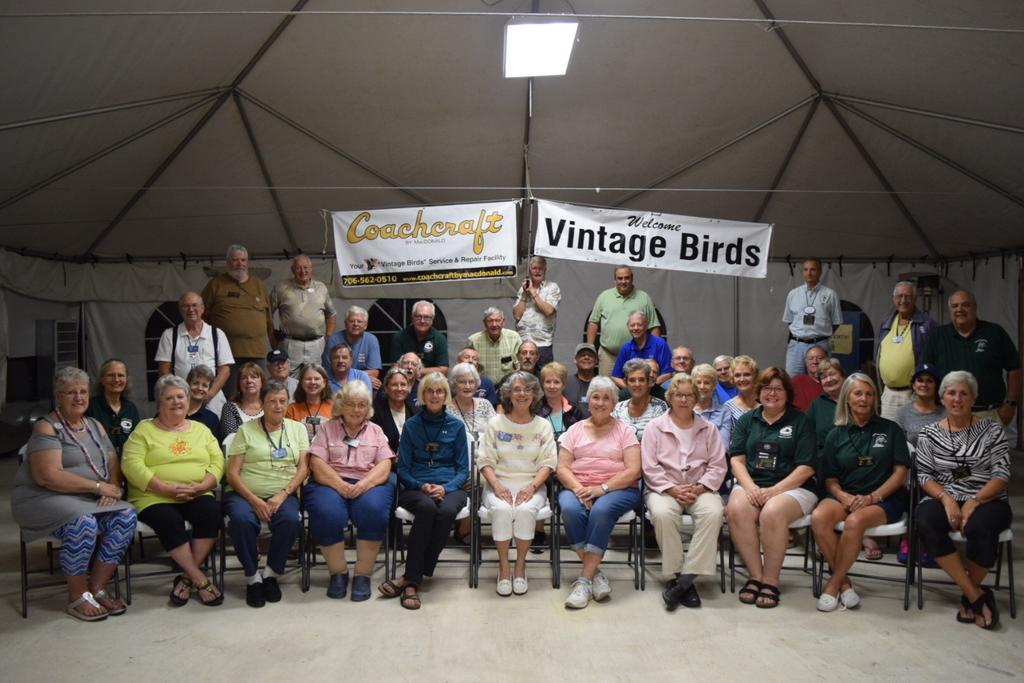 Vintage Birds Left Alan Darson s Backyard Rally In Old Cape Cod and came to Jan Mohr and Ken Doyle s Backyard in Colonial Williamsburg October 1-6, 2018 Thanks To Liliana Pappas For Sharing About The