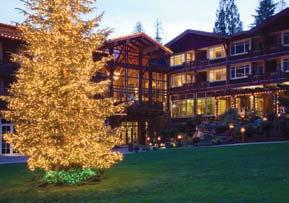 Great Northwest Lodges Jeff Caven Alderbrook Resort & Spa, Union, WA That is what lodges do best.