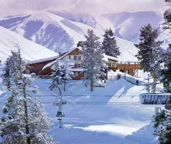 That storied history includes incredible skiing, but there are also other ways to pass the wintry days at Sun Valley.