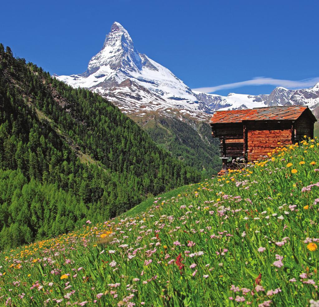 ALPINE SPLENDOR Switzerland and Austria September 12-25, 2019 14 days from $5,292 total price